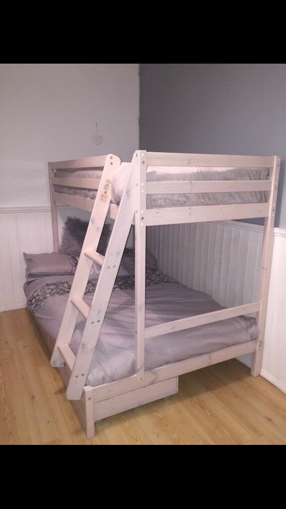 Small Double With A Single Above Bunk Bed
