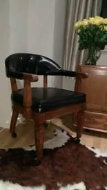 Captains desk chair £45