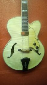 Ibanez AF105F NT Deep bodied jazz style guitar