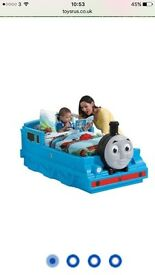 Brand new Thomas and Friends toddler bed w mattress