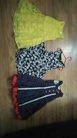 Girls dresses Age 5/6 years