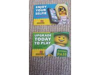2 LEGO LAND TICKET DATED 17th JULY