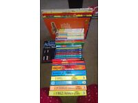 Book bundle, many series and new. Suit 7-14 years.