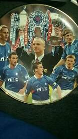 Glasgow rangers (2002)collectors plate