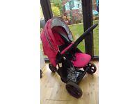 Britax B Smart 3 pushchair and car seat