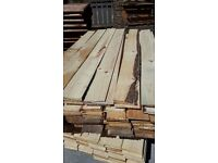 6ft bark edged / seconds featheredge x 6inch - cladding fencing