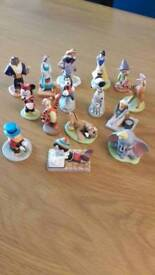15 collectable Disney figures. Great condition