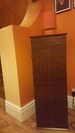 Dark wood storage unit from Next