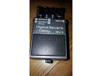 Boss RV-3. Classic Boss Reverb and Delay.