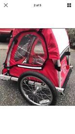 Halfords Single Buggy Child Bike Trailer