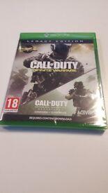 Xbox One Call Of Duty Infinite Warfare Legacy Edition with MWR DLC
