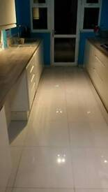 Kitchen and bathroom fitting, tiling, plastering, painting and decorating