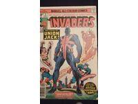 Marvel Comics The Invaders #8 September 1976 comic