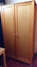 Wooden wardrobe excellent condition