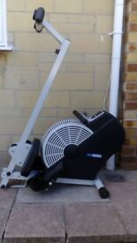 Pro Fitness Cyclone air rowing machine, in excellent condtion, ideal for exercising at home.
