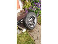 NEW 14 Inch Car Wheel & Michelin tyre