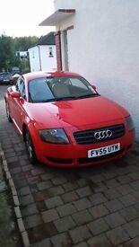 Audi TT 1.8L, 2 Door Coupe - Red - £3500