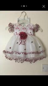 Baby Girls Dress 3-6 months