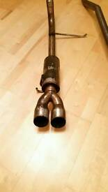 Twin Pipe Exhaust