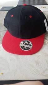 snap back flat cap