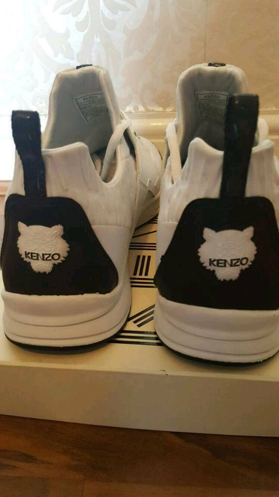 Men's Kenzo trainers(genuine)