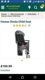 Hamax siesta bike child seat