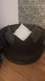 large swivel cuddle chair fits up to 2 people from dfs 140.00