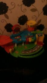 toy toot car station vtech
