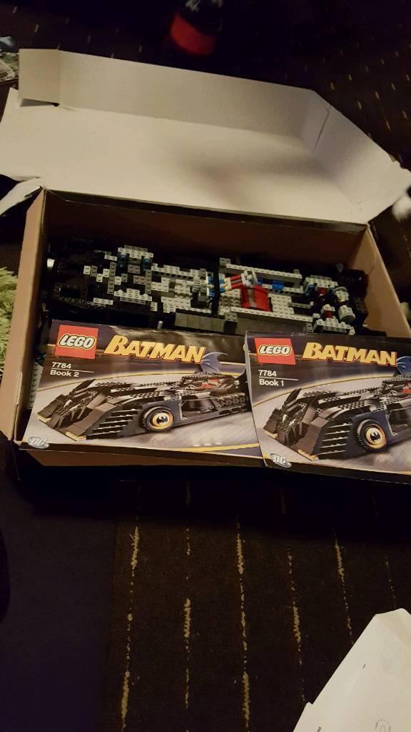 Lego 7784 Batman Batmobile Ultimate Collecters Edition In Havant