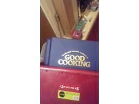Collection of 6 Good Cooking Guide volumes