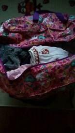 bag of baby girls clothing