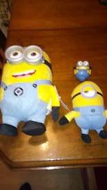 Despicable me minion plush and hard toys