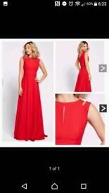 BNWT Red prom / evening dress