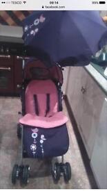 Girls stroller like new