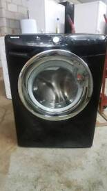 BLACK HOOVER 8KG 1400 SPIN WASHING MACHINE WITH 3 MONTHS GUARANTEE