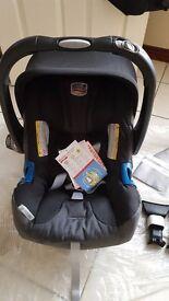 britax baby car seat 0 -13kg plus bugaboo adaptors