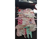 Baby girls clothes up to 3 months