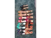 Assorted shoes indian/asian style good condition