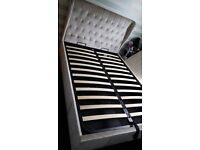 Double ottoman bedframe