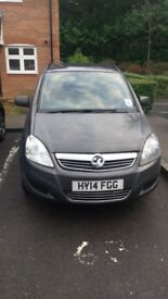Vauxhall Zafira 1.7 diesel cdti, 2014, 7 Seater, good condition £5350 ono