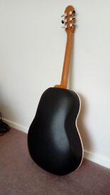 1974 Ovation Applause Accoustic Guitar and hard case