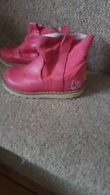 Girl pink Next Boots : Size 6