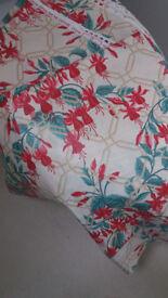 Laura Ashley vintage fuchsia fabric