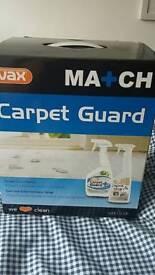 Vax match carpet guard spot & stain new