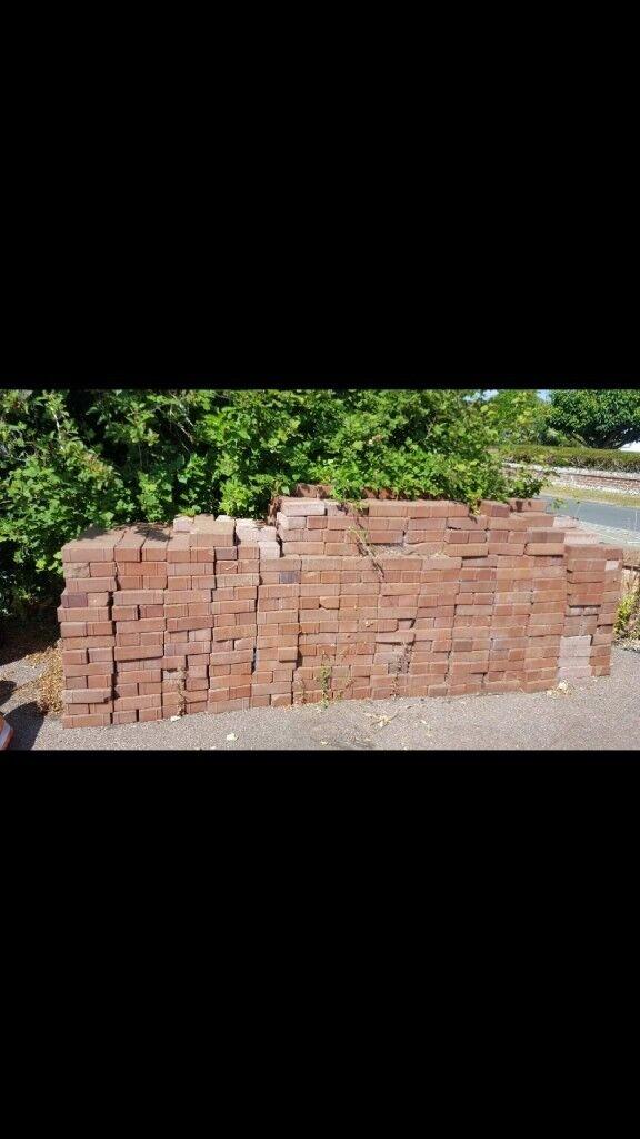 200 Red Paving Bricks In Ferring West Sussex Gumtree