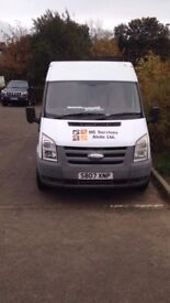 FORD TRANSIT MWB 2007 TAXED AND MOT'D READY TO GO TO WORK