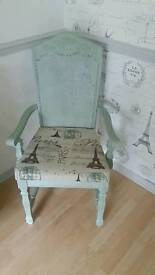 UPCYCLED OCCASIONAL CHAIR