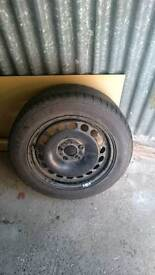 16 Steel wheel
