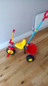 New trike with parent handle