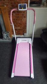 Treadmill! Confidence pink.